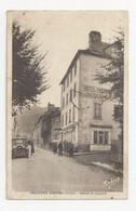 15 CHAUDES AIGUES - L'avenue De Laguiole - Hôtel Des Thermes Jacquemot - Animé - Cpa Cantal - Sonstige Gemeinden