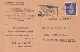 13576  TEXTE INTÉRESSANT - BERLIN Le 12/12/43 - 2. Weltkrieg 1939-1945