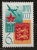 Russie 1962 N° Y& :  PA. 114 ** - Ongebruikt