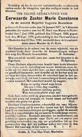 Zuster, Soeur, 1940, Semmerzake, Machelen, Eugenie Bosschem, Zusters Van Het H. Hart Van Maria, Nederbrakel - Andachtsbilder