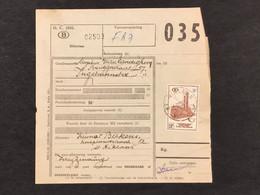 Spoorwegborderel TR358 - ST NIKLAAS - 1952-....