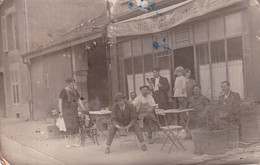 VAUCOULEURS CAFE BAR LE MAGINOT AVENUE ANDRE MAGINOT CARTE PHOTO RARE - Otros Municipios