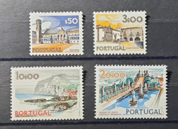 Portugal - 1972 - MNH As Scan - Landscapes And Monuments - 2nd Group - 4 Stamps - Nuevos