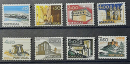 Portugal - 1974 - MNH As Scan - Landscapes And Monuments - 4th Group - 8 Stamps - Nuevos
