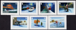 Guernsey - 2020 - Christmas - Santa Visit - Mint Self-adhesive Stamp Set - Guernsey