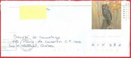 Hibou, Oiseau / Owl, Bird; Enveloppe; Entier Postal; Timbre Sc. # 1712 Postal Stationery (0977) - Covers & Documents