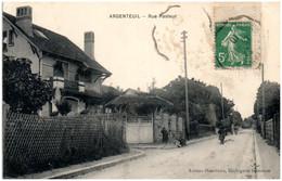 95 ARGENTEUIL - Rue Pasteur - Argenteuil