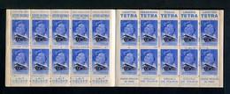 Carnet De 1939  - Tuberculose - Antituberculeux - N° 39U*SI*48  Lait Tétra -Fly Tox-Loterie-lessive CROIX-moulin GRUAU - Blokken & Postzegelboekjes