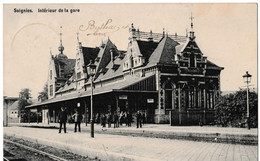 Soignies - Intérieur De La Gare - Soignies