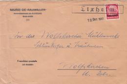 Deutsches Reich Lothringen Brief 1941 - Occupazione 1938 – 45