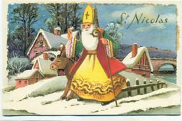 Sinterklaas IDA Paris 755 St-Niklaas Saint-Nicolas St-Nicolas Santa Claus - San Nicolás