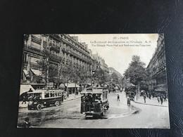 157 - PARIS Le Boulevard Des Capucines Et L'Olympia - Arrondissement: 02