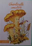 Petit Calendrier De Poche Humoristique   2010 Champignon Humanisé Chanterelle Comestible - Klein Formaat: 2001-...