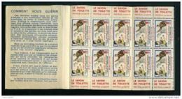 Carnet De 1956  - Tuberculose - Antituberculeux - PUB SAVON - BCG Docteur MEYER - Bébé - Tegen Tuberculose