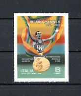 ITALIA :  Pietro MENNEA - Oro Olimpico 200 Metri A MOSCA - 1 Val. 1,10 €.  MNH**   9.11.2020 - Bar-code