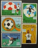 COTE D'IVOIRE Série N°458 Au 462 Oblitéré - Ivoorkust (1960-...)