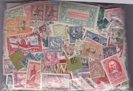 TIMBRES DES EX-COLONIES FRANCAISES Et DOM- TOM , 100 Grs Décollés, GF Et PF , Oblitérés Et Neufs - Lots & Kiloware (mixtures) - Min. 1000 Stamps