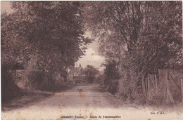 F4071 CHARNY - ROUTE DE FONTENOUILLES - Charny