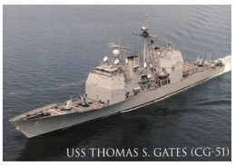 (W 3) USS Thomas Gates CG-51 - Warships