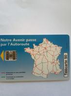 FRANCE PRIVEE EN856 ASF AUTOROUTES 50U UT - 50 Einheiten