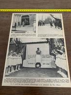 1934 PATI JOURNEE D HOMMAGE A LA MEMOIRE ROI ALBERT DEURNE LEZ-ANVERS LAEKEN - Sin Clasificación