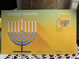 Canada 2020 Nov MNH Stamp FDC Festival Of Lights - Hanukkah Dec 10th - 2011-...