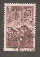 Perforé/perfin/lochung France No 390 T.G. Thibaud-Gibbs Et Cie - Perfin