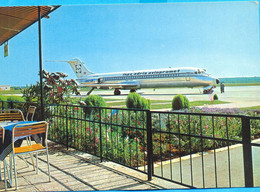 EX YU. Slovenia.The Inex Adria Aviopromet`s DC-9 (YU AHR) At Ljubljana Aerodrom. - Aeródromos