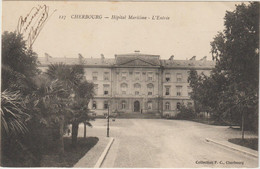 CPA  50  CHERBOURG  HOPITAL MARITIME L ENTREE - Cherbourg