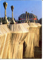 75001 PARIS - Le Pont Neuf Emballé Par Christo - Publicité Pour La Samaritaine - District 01