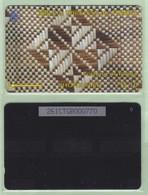 "Tonga - 1995 Second Issue - Textures - $$10 White & Brown  - TON-5d - ""261CTGB"" - VFU - Tonga"