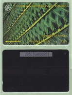 "Tonga - 1995 Second Issue - Textures - $5 Green  - TON-4d - ""285CTGA"" - VFU - Tonga"