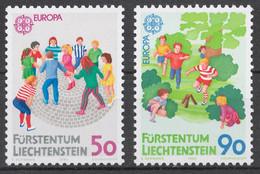 Liechtenstein 1989 Mi# 960-61** EUROPA CEPT, CHILDREN'S GAMES - Nuovi