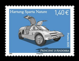 Andorra (FR) 2020 Mih. 872 Hartung Sparta Nature Automobile MNH ** - Unused Stamps