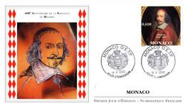 """"""" MAZARIN """" Sur Enveloppe 1er Jour De 2002 De Monaco. N° YT 2340. Parfait état. FDC - FDC"""