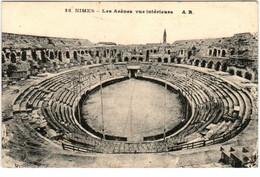 3XX 211 CPA - NIMES - LES ARENES VUE INTERIEURE - Nîmes