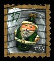 Etats-Unis / United States (Scott No.3891 - Noël / 2004 / Christmas)+ (o)  P3L - Carnet / ATM / Booklet - Oblitérés