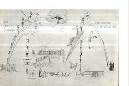 ERQUELINNES   ARTS ET METIERS     DESSIN 25 FEVRIER 1920 Petits Defauts    DEPT 59 - Autres Communes