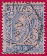 """COB N° 48 - Hexagone """"BRAINE LE COMTE"""" - 1884-1891 Leopold II"""