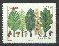 N° 564 Y.T. Autoadhésif France Neuf ** 2011 Europa Les Forêts - Luchtpost
