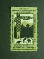 Reklamemarke Verein Naturschutzpark Stuttgart - Vignetten (Erinnophilie)