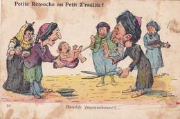 Illustrateur : CHAGNY : Petite Retouche Au Petit Z'raélite ! : Religion : Judaïsme - Judaïca : N° 10 : - Chagny
