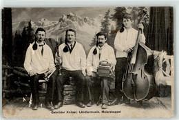 53092818 - Gebrueder Knuesel Laendlermusik Meierskappel - Sänger Und Musikanten