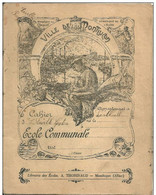 03 MONTLUCON  -  Cahier Ecole Communale  En 1923 - Kids