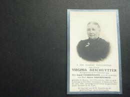 Doodsprentje ( 3828 )   Deschuytter / Vandekerckhove  -   Moere  Zevekote  1929 - Avvisi Di Necrologio