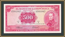 Colombia 500 Pesos 1973 P-416a UNC - Kolumbien