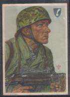 """Dt.Reich Feldpost II.WK Heimat-Front Von Oelde/21.7.41 Propagandakarte W.Willrich """" Feldwebel Arpke """" - Brieven En Documenten"""