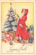 Thematiques Fantaisie Père Noël Joyeux Noël Illustrateur Gougeon - Santa Claus