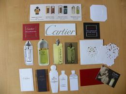 Lot De 16 Cartes Parfumées  - Cartier -  A Voir - Modern (from 1961)