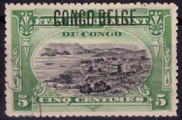Congo 0040 (o) 5c Vert  Mols - 1894-1923 Mols: Used
